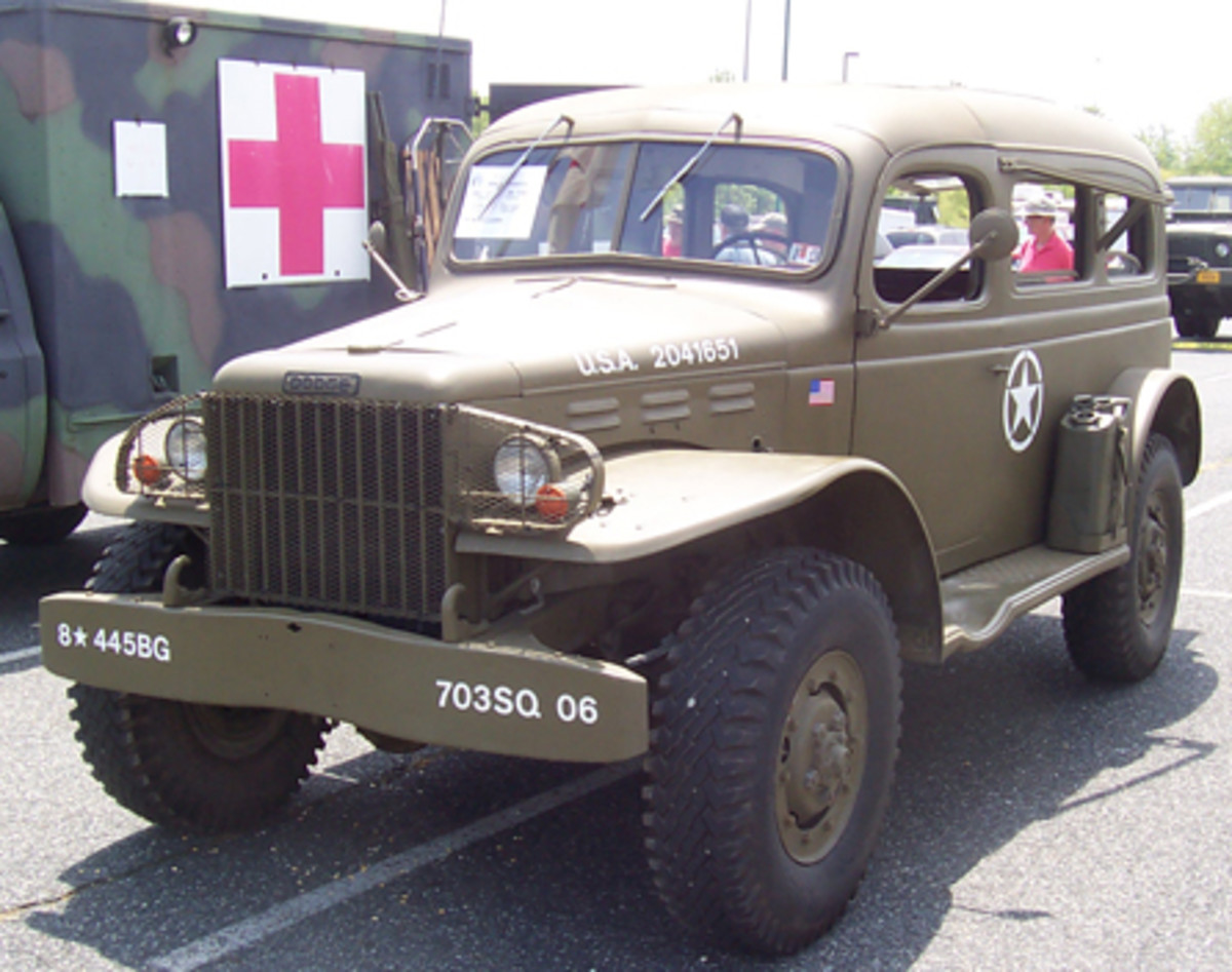 1942 Dodge WC-53 radio truck, owned by W.A. Schroth