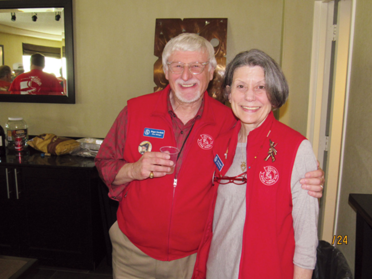 Both career educators, Roger and Jan Garfield recently purchased the Chicago Toy Soldier Show – one of the oldest and largest shows in the hobby.