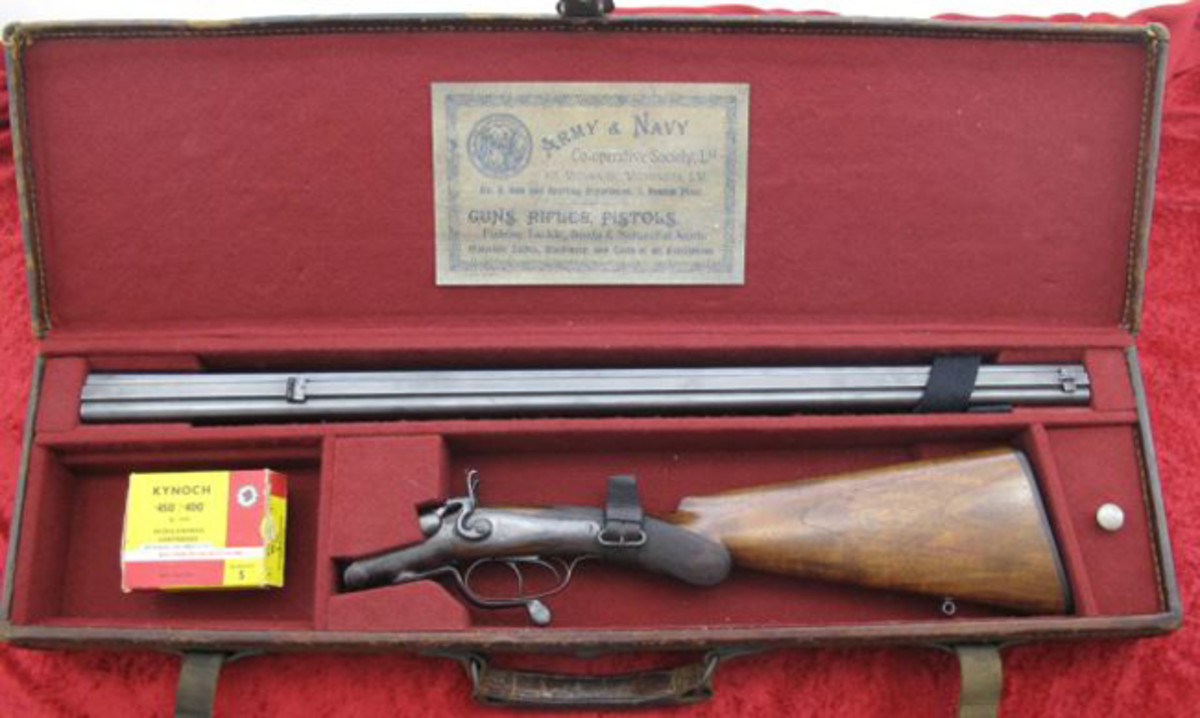 GE Lewis Dble. Rifle