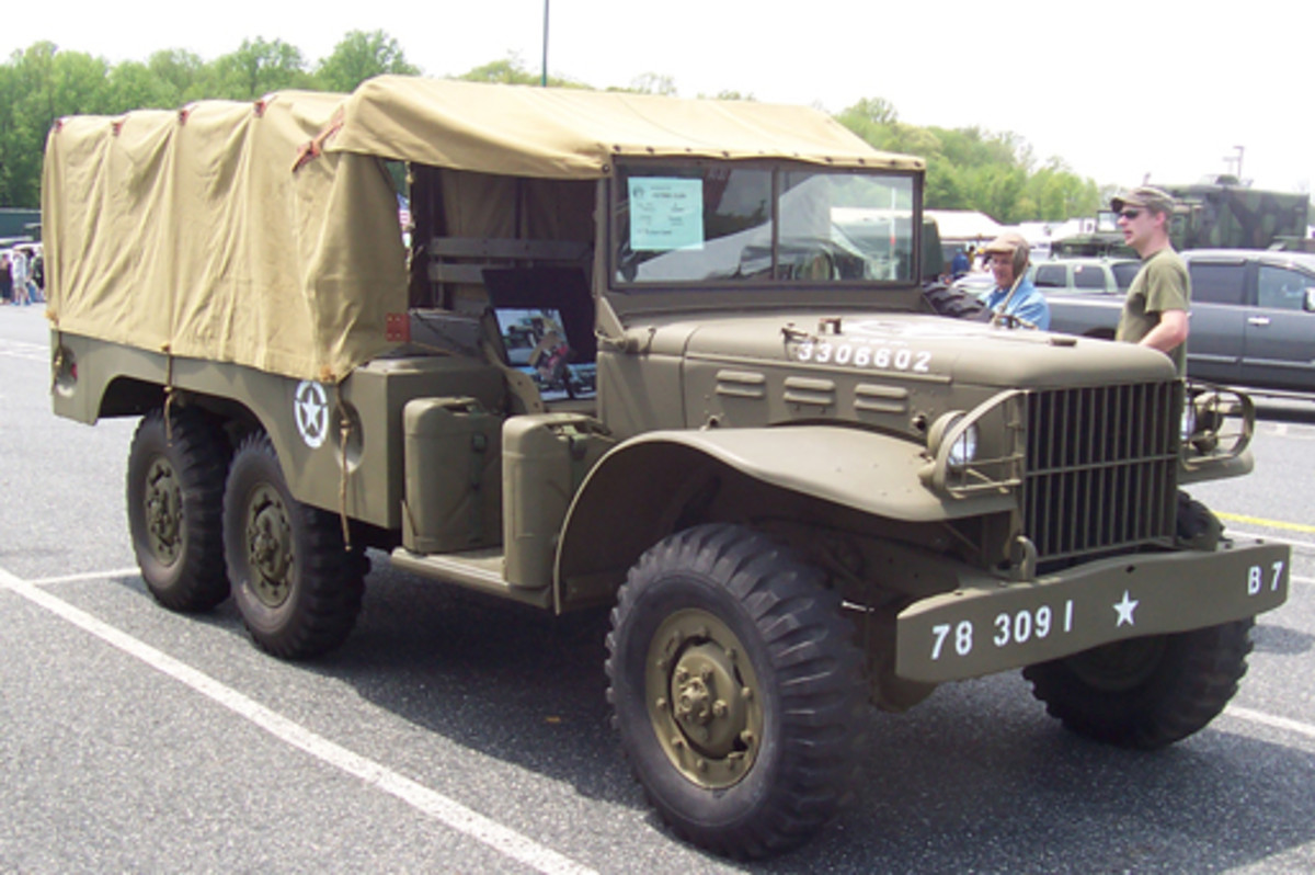 1944 Dodge WC-62 6x6 cargo, owned by Richard Wark