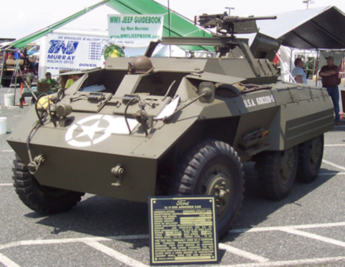 Ford M20 Armored Car, owned by John Cliche