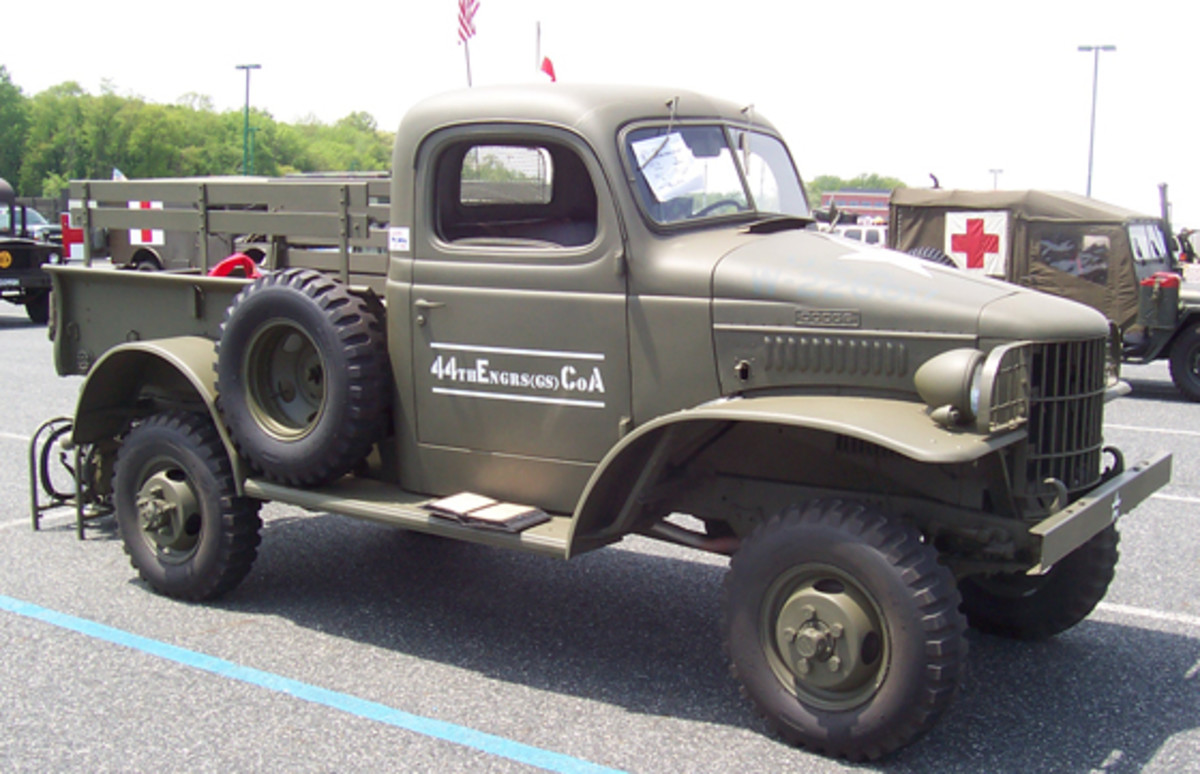 1941 Dodge WC-12 pickup, owned by Bruce Jones