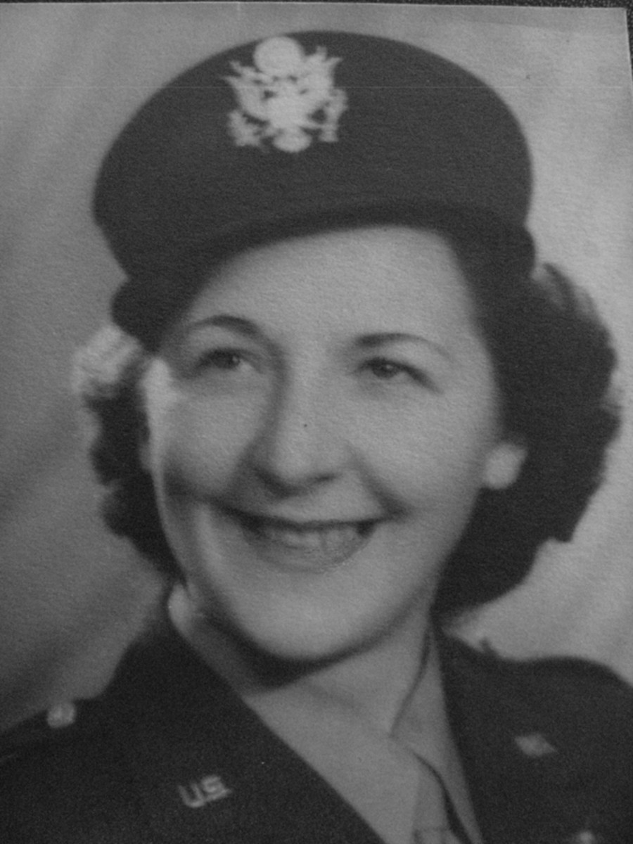 Helen Ann Mangold of Racine, Wisconsin, volunteered for service in early 1943. By the end of the war, she had treated hundreds of wounded and sick patients throughout the Pacific Theater.