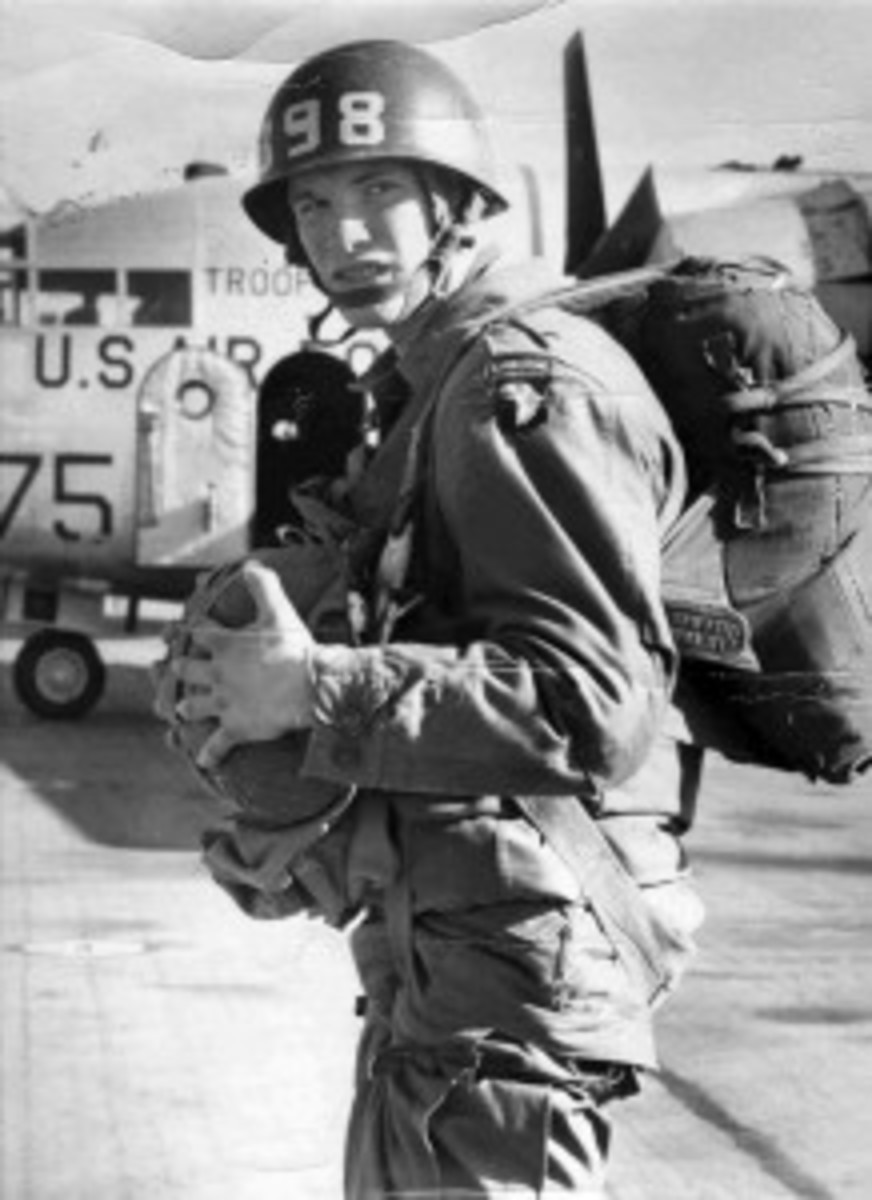 Pittam serving in the 101st Airborne.