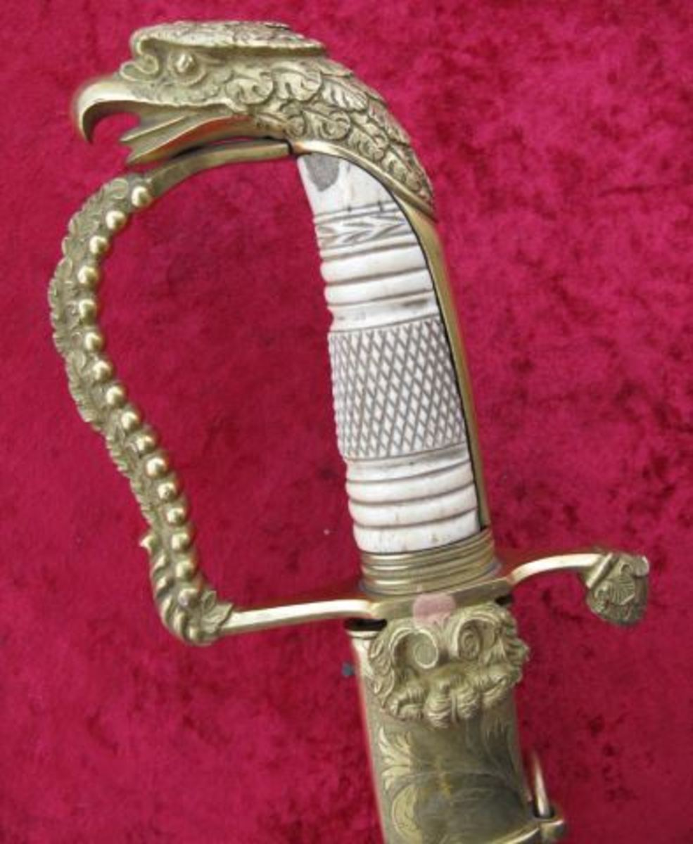 Eagle Head Officers Sword