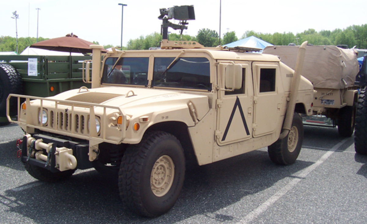 1986 AM General M1026 armament carrier, owned by Sean Plaisance