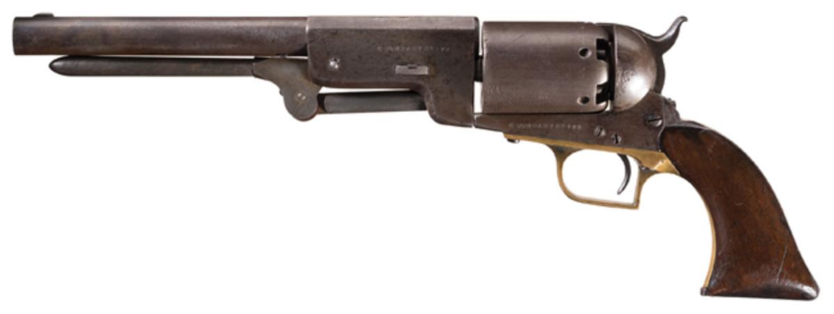 Walker's C Company Marked U.S. Contract Colt Walker Model 1847 Revolver