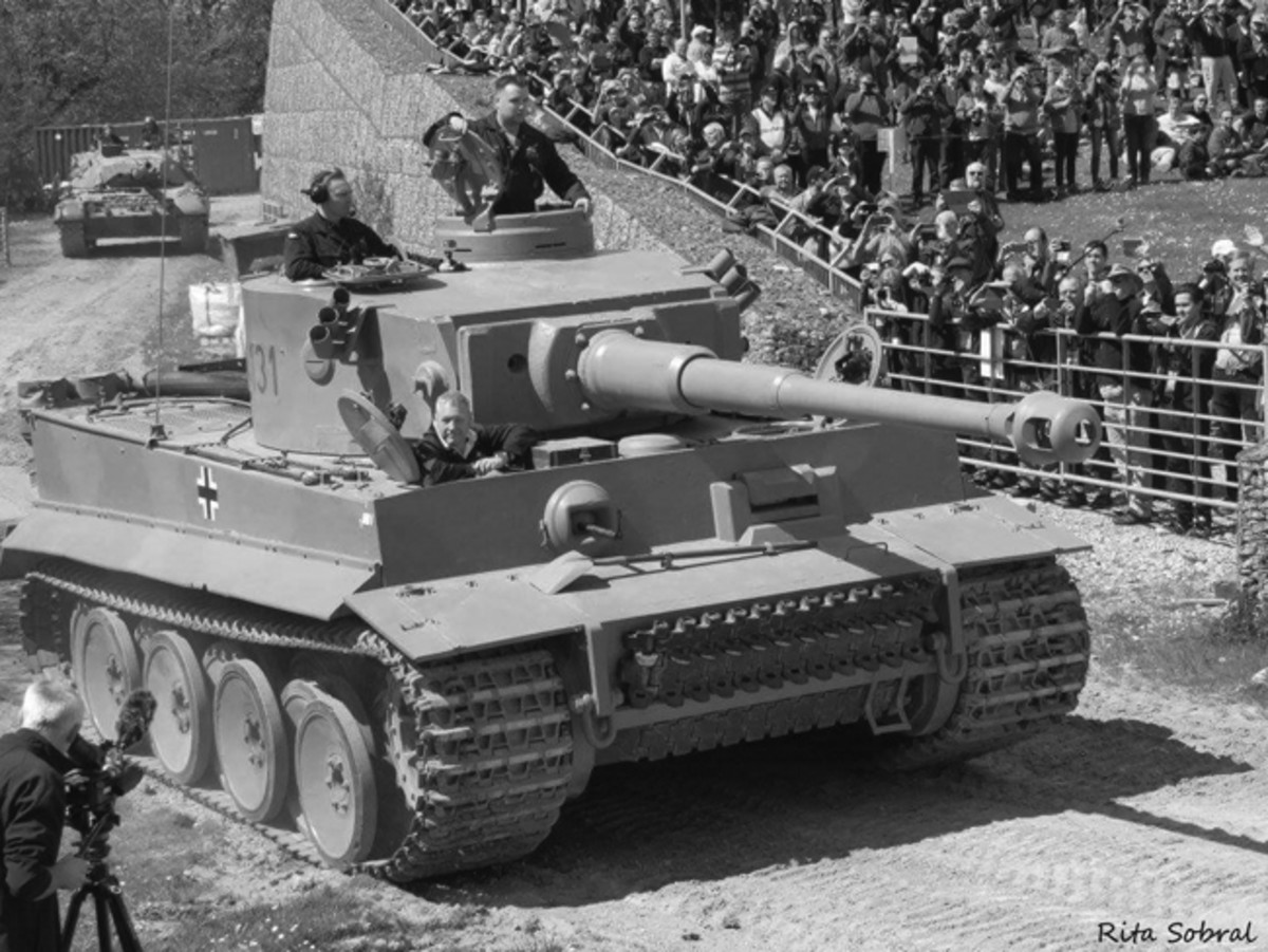 Seeing, hearing, smelling, and feeling an actual WWII German Tiger in action? Tank Day at Bovington Tank Museum provided the opportunity of a lifetime!