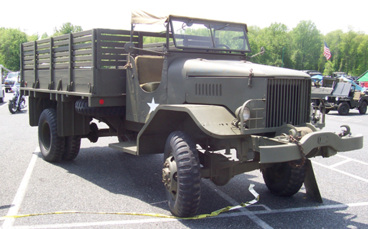 1943 FWD HAR-1 4-ton cargo, owned by David Firstman