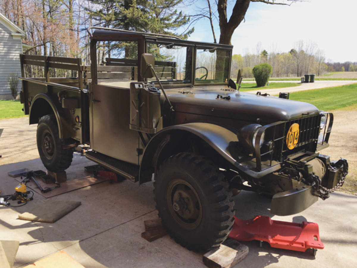 Gil made the acquisition of a 4.89 gear ratio third member his first priority. He didn't realize how hard it was going to be able to find one! Bob Stahl of Veteran Vehicles out of Wrentham, Massachusetts, was able to supply the necessary components and expertise to install it.