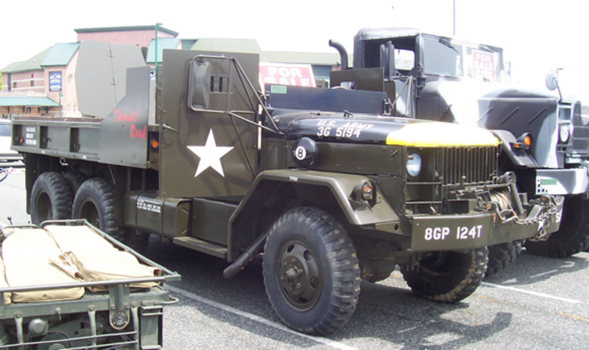 """1965 M35A2 gun truck """"Thunder Road"""", unknown owner"""
