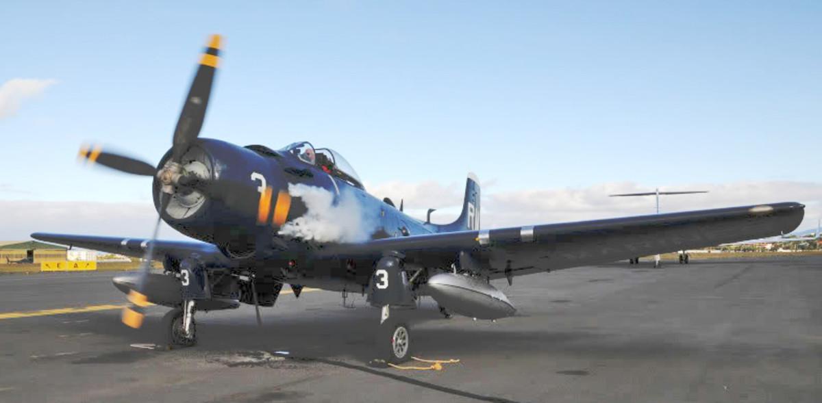 In 2009, Federal agents seized Claude Hendrickson's Korean War-vintage AD-4N Skyraider.