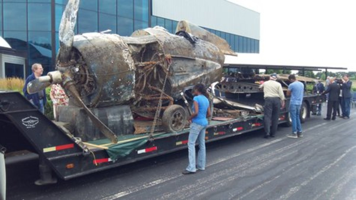 Air Zoo is taking on the restoration of another Wildcat and you can watch.