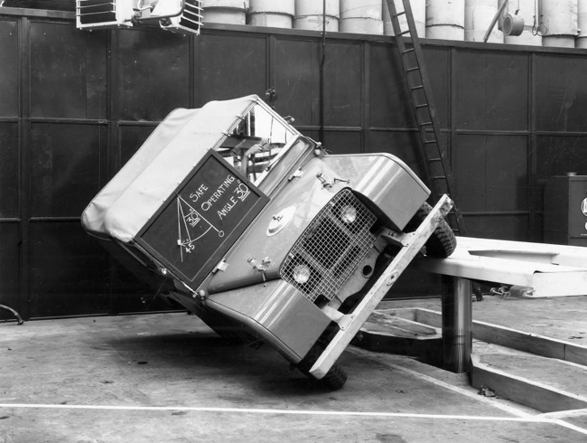 1948 Series I testing