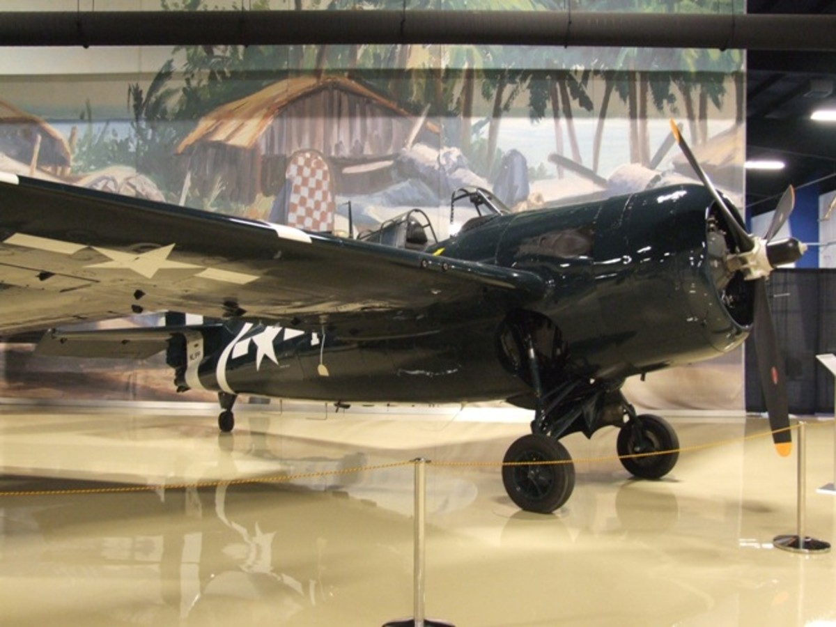 This is the Air Zoo's restored Wildcat. The recovered one will look like this after restoration.