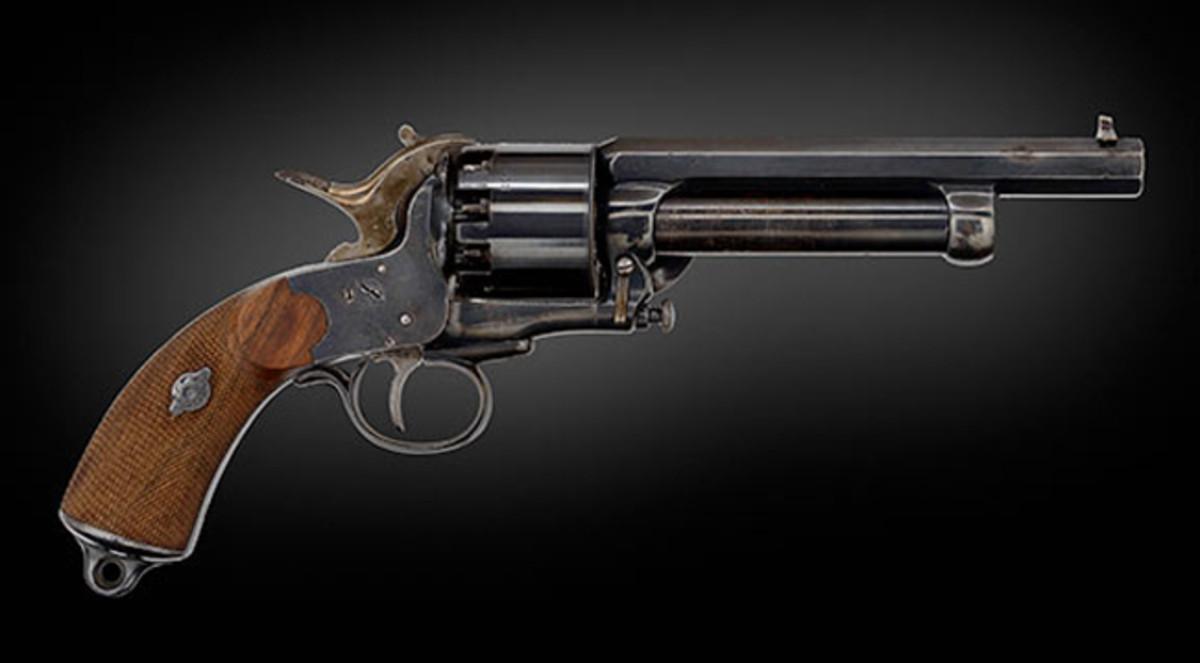 Cased Second Model LeMat Percussion Revolver