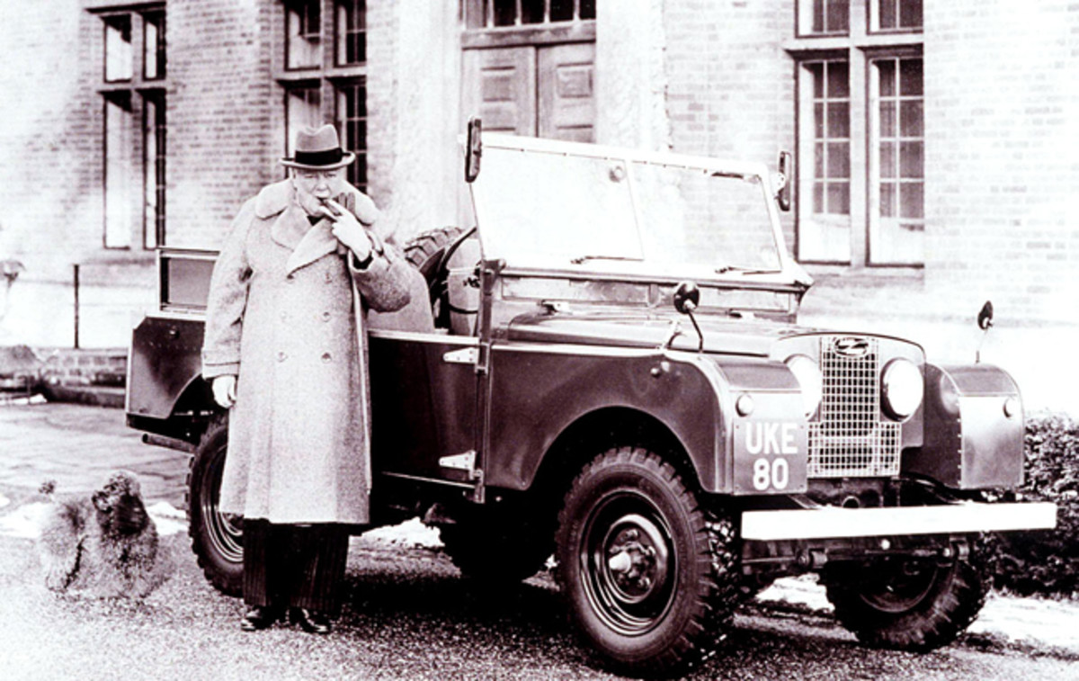 Churchill and Rover