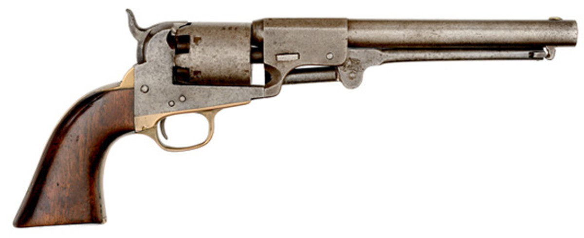 J.H. Dance & Brothers Navy Percussion Confederate Revolver Without Recoil Shield
