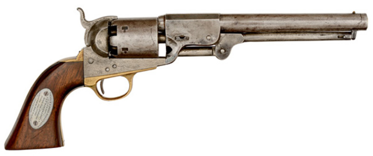 Leech & Rigdon Percussion Revolver Captured from the C.S.S. Tennessee at Mobile Bay