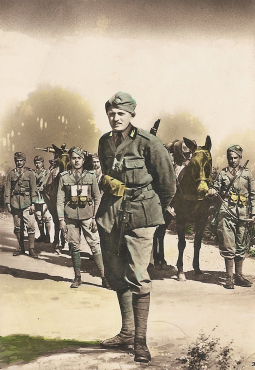 In December 1934, troops from Ethiopia and Italy engaged in a clash near Ualual. For almost a year, a period of tension existed between the two countries until finally, on October 3 1935, Italy invaded Ethiopia without any advance declaration of war.