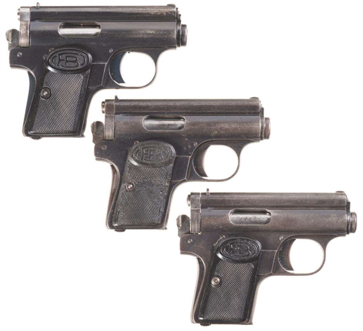 LOT649-Three Hungarian Semi-Automatic Pistols
