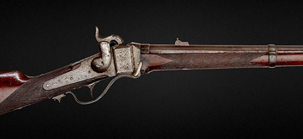 The Only Surviving Engraved Robinson Sharps Carbine