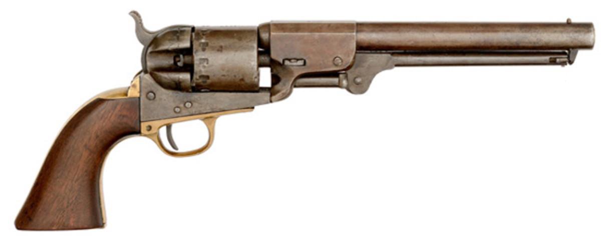 Rigdon & Ansley Cartridge Conversion Revolver