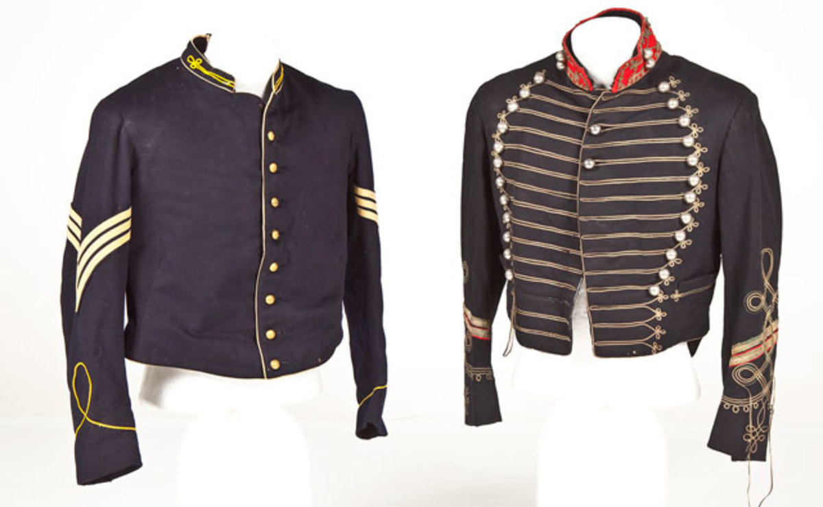 Indian Wars and Spanish American War Cavalry Jackets