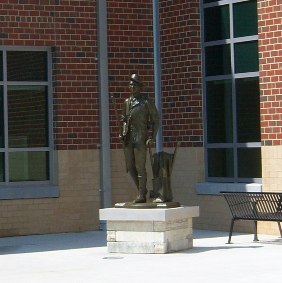 The Minuteman statue at the new Virginia National Guard Joint Force Headquarters located at Defense Supply Center–Richmond (DSCR), located just south of Richmond, Virginia.