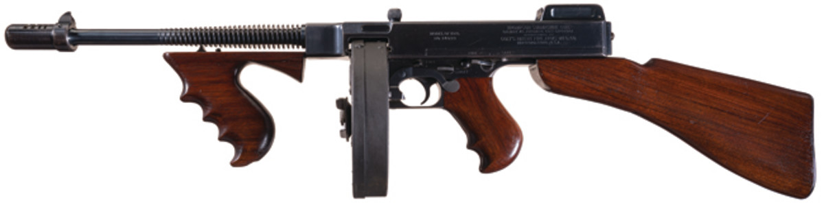 "Historic Colt Model 1921 Class III/NFA C&R Fully Automatic Thompson Submachine Gun Documented to Legendary FBI Agent Melvin Purvis During the Final Pursuit and Death of Charles Arthur ""Pretty Boy"" Floyd, Public Enemy Number One"