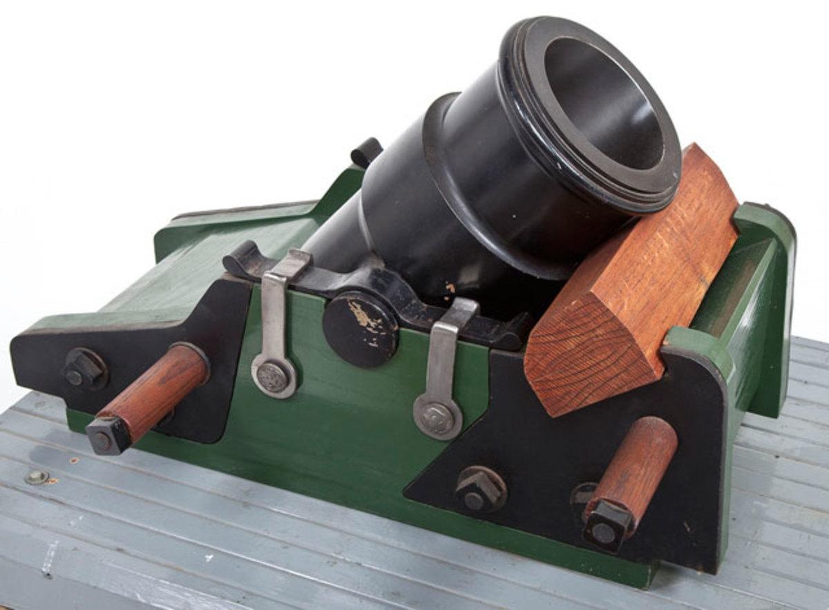 Replica 24 Pound French Siege Mortar of the Greibeuval Design ($4,000-5,000)
