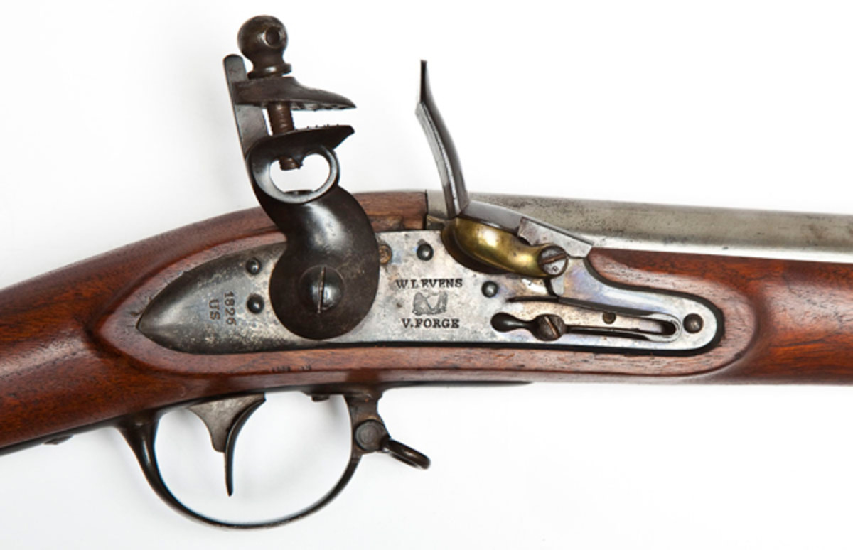 W.L. Evans Model 1816 Flintlock Musket ($1,500 - $3,000)