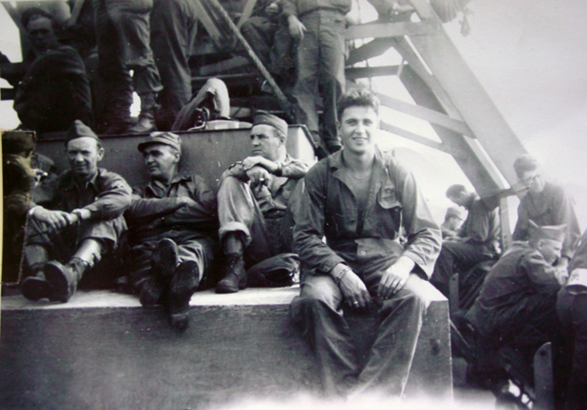 A photo of my grandfather taken when he was on a ship carrying pack to the U.S. showed him wearing the bracelet!