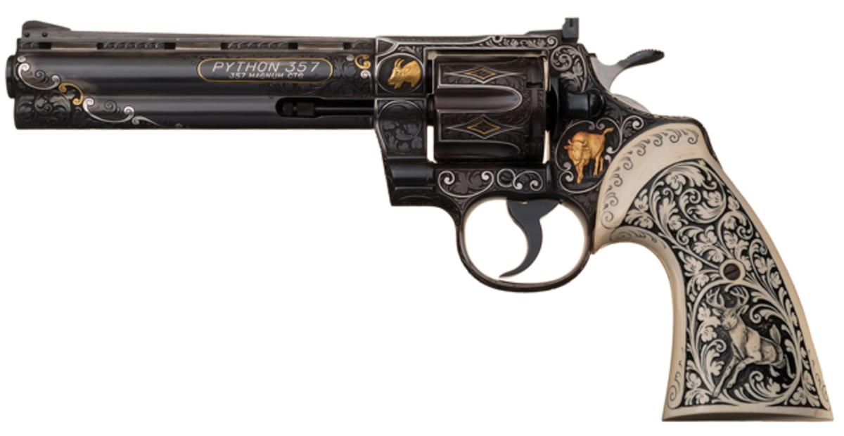 Presley-owned Colt Python