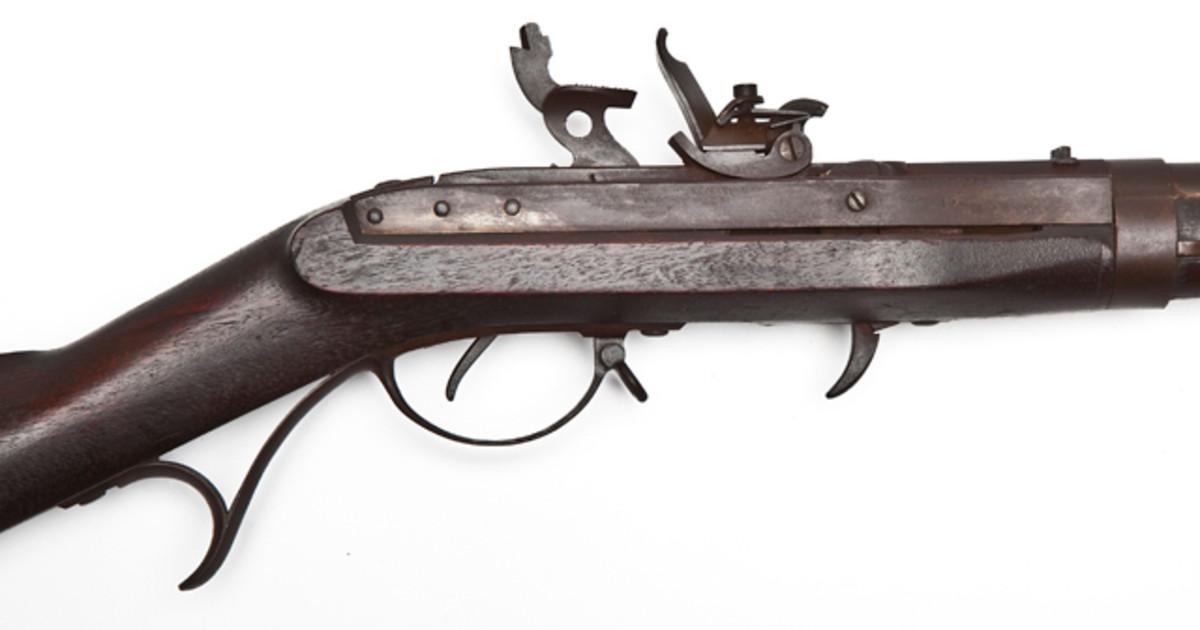 W.L. Evans Model 1816 US Flintlock Musket.
