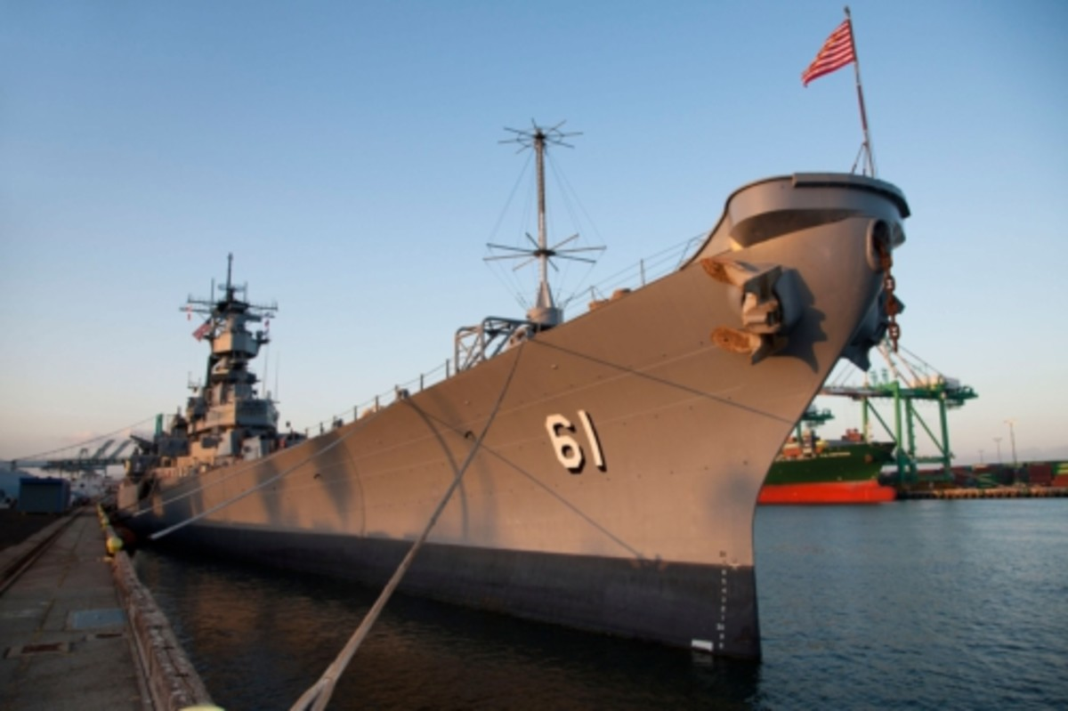 Wargaming America to Bring History Alive with Virtual Ship Battles aboard the USS IOWA. Photo credit: Jeremy Bonelle/Pacific Battleship Center.