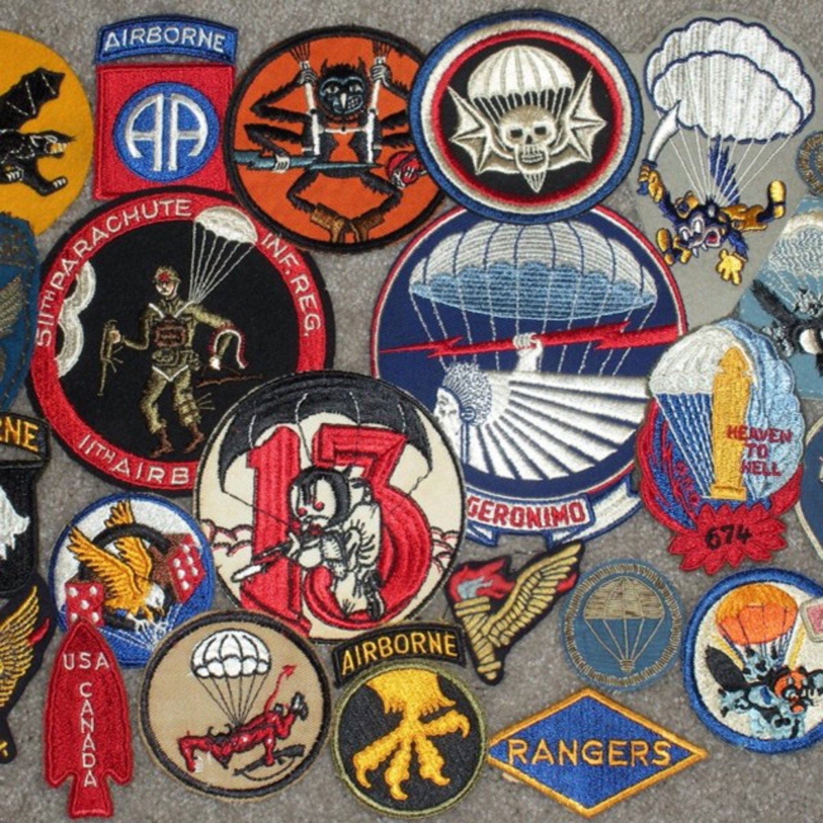 WWII Patches hicks