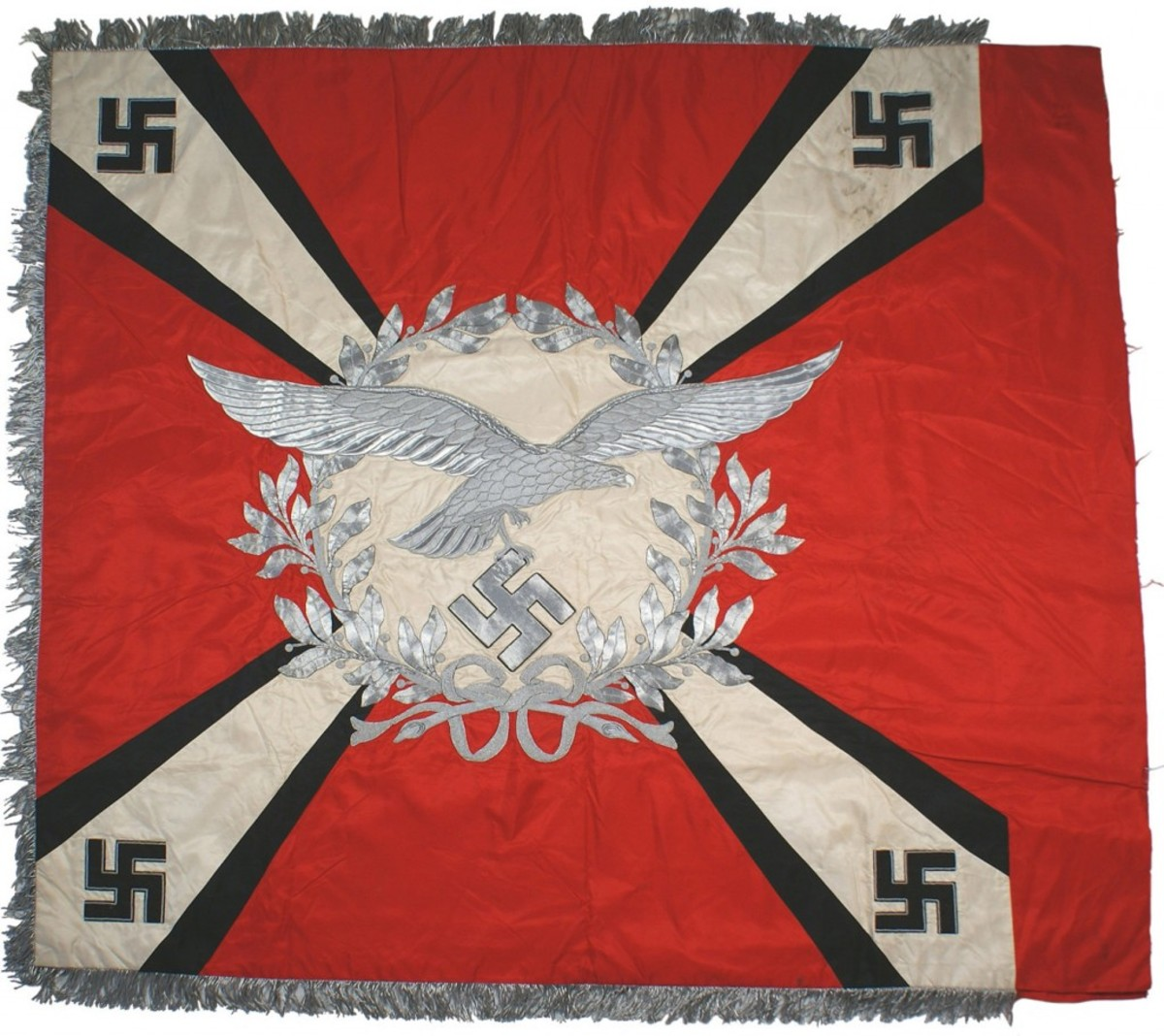With an opening bid of $23,500, this Luftwaffe flag regiment standard could be the sale's top lot.
