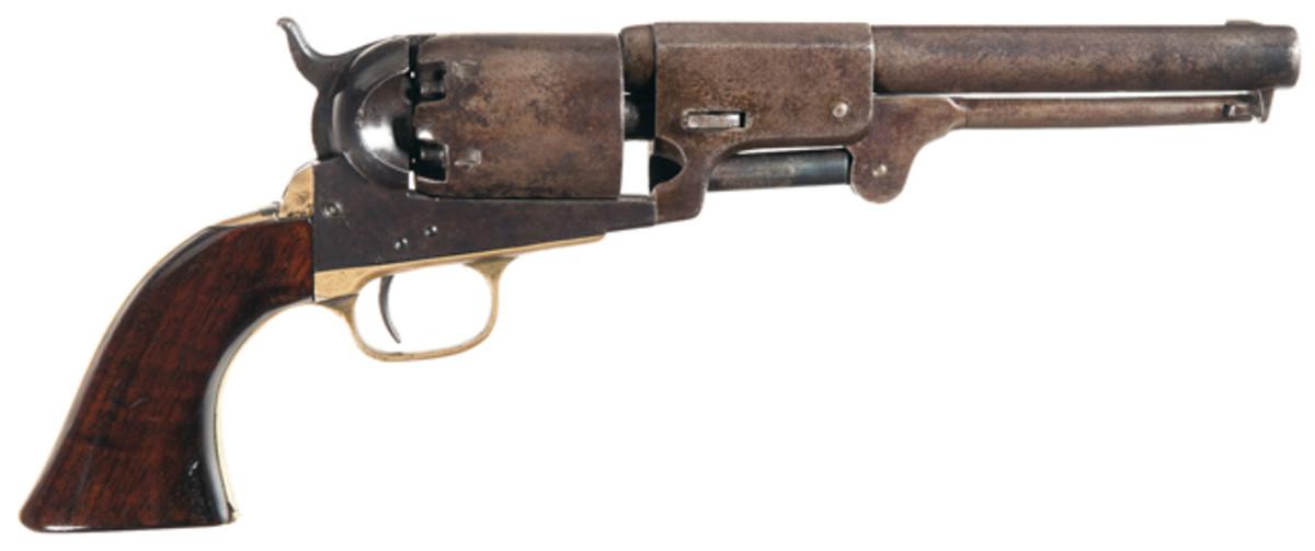 Lot 2084: Colt Third Model Dragoon Percussion Revolver