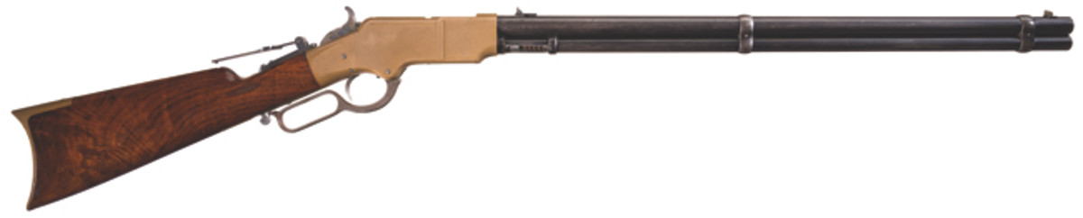 Extremely Rare Documented Experimental Briggs Patent Henry Lever Action Rifle