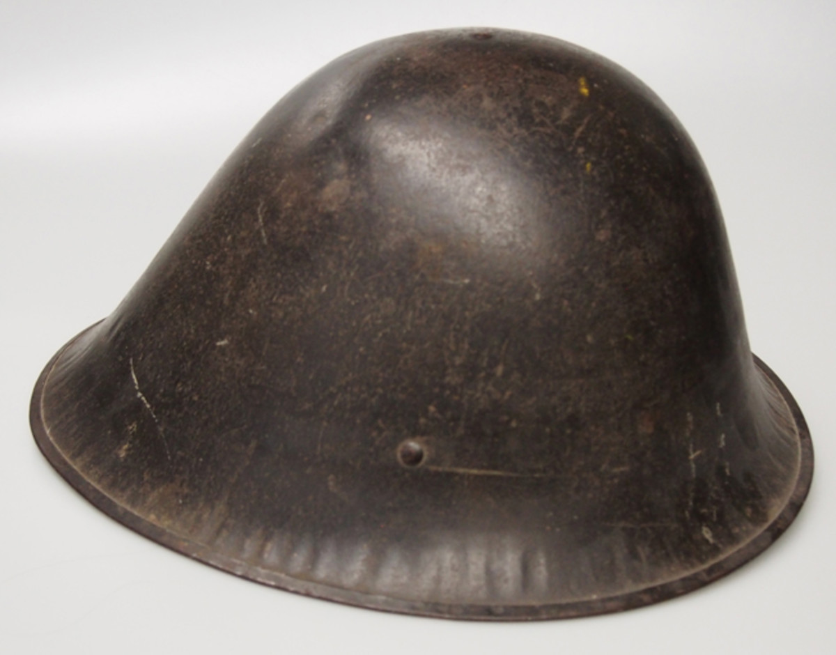 The American Liberty Bell helmet, which was developed during World War I. While similar in profile it is unlikely this pattern helmet was copied by Hawley Products however.
