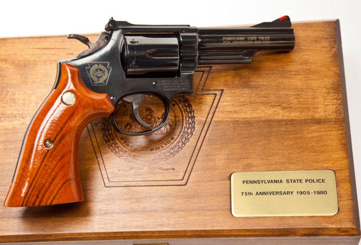 S&W Model 19 Pennsylvania State Police 75th Anniversary Commemorative ($600-$800)