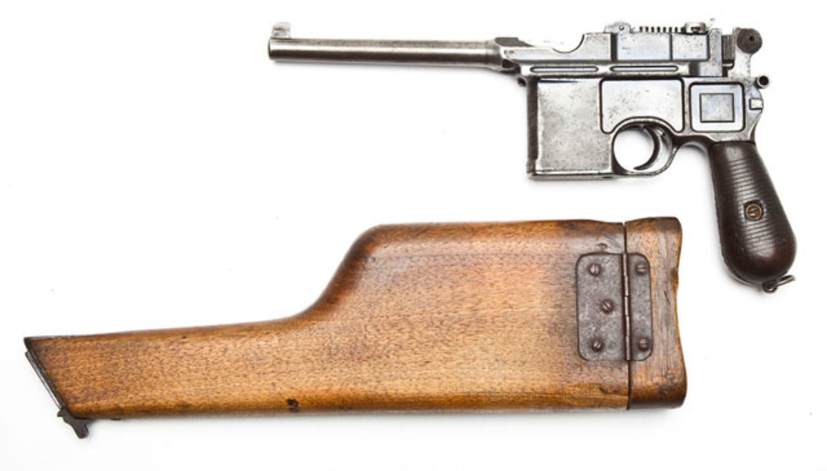 Standard Cone Hammer Model 1896 Broomhandle Mauser ($1,500-$2,000)