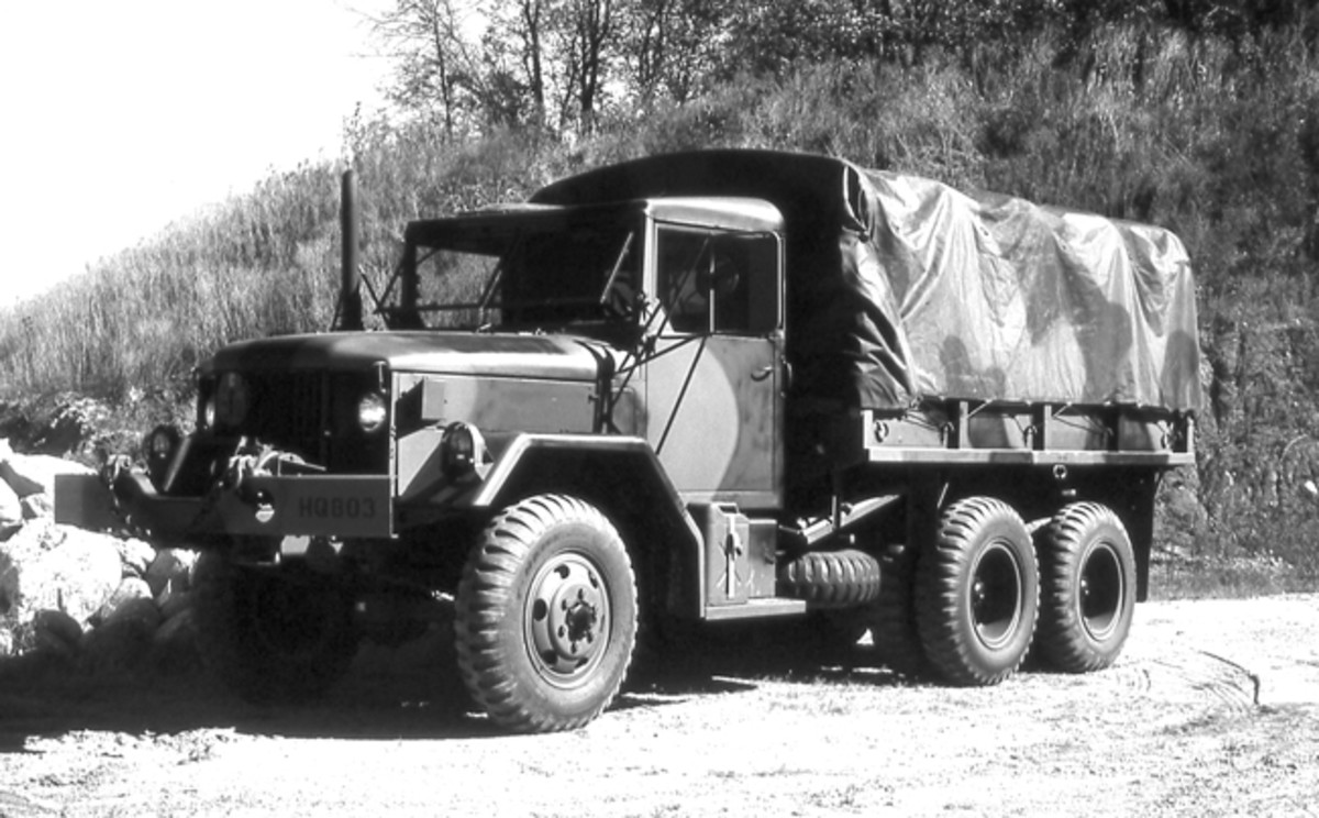 Dating from the Korean and Cold War eras is the G-742 family of vehicles, which includes the Reo M35 and M34, usually powered by Reo 331 cid. gasoline engines. Most Vietnam era M35 deuces were powered by LDS 427 cid. multifuel engines.