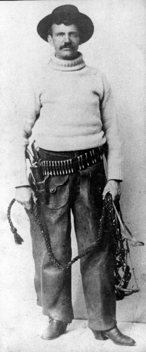Deputy Robert Meldrum of Telluride was of small stature but tough as nails and lightning quick with his gun. He also had no reservation about shooting someone if he thought they needed it. In 1900 he recognized a Texas fugitive Noah Wilkerson from a wanted poster. Meldrum simply walked up to Wilkerson, shot him dead and then collected the reward money.