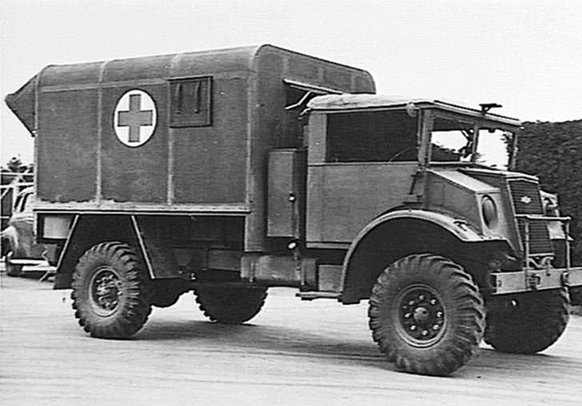 In the late 1930s, the Canadian Government, in collaboration with Ford and GM of Canada, began designing trucks to prepare for what seemed an inevitable war. The eventual standardized designs were the Canadian Military Pattern (CMP) vehicles, of which several variants were ambulance models.