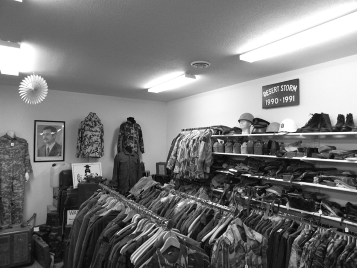 Craig had been buying and selling militaria for about 14 years when he finally decided to open a storefront.