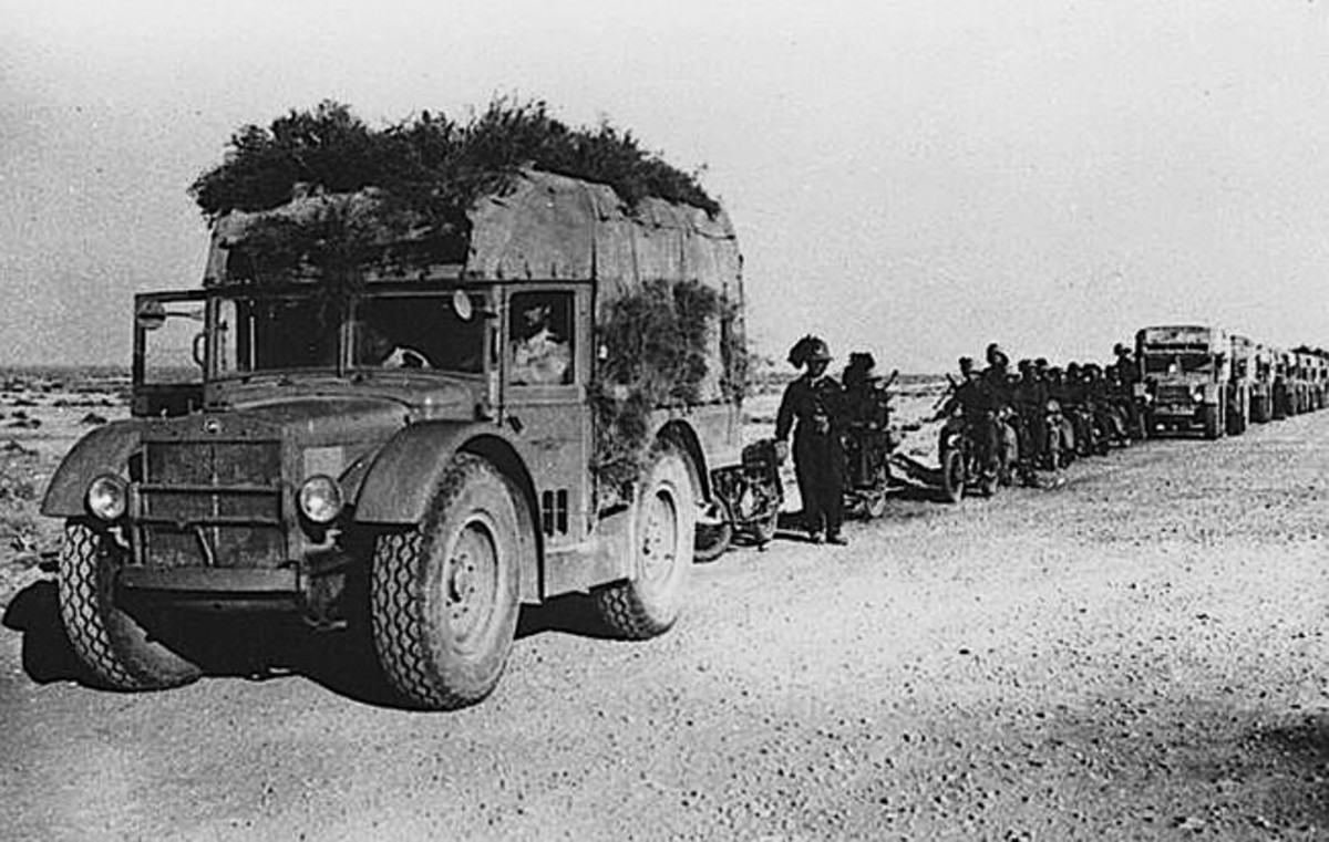 Ironically, before the invasion of North Africa, most Italian military authorities didn't consider the problems that vehicles would encounter in the desert. Fiat, supported by Marshal Italo Balbo, Governor of Libya, independently developed the SPA AS-37.