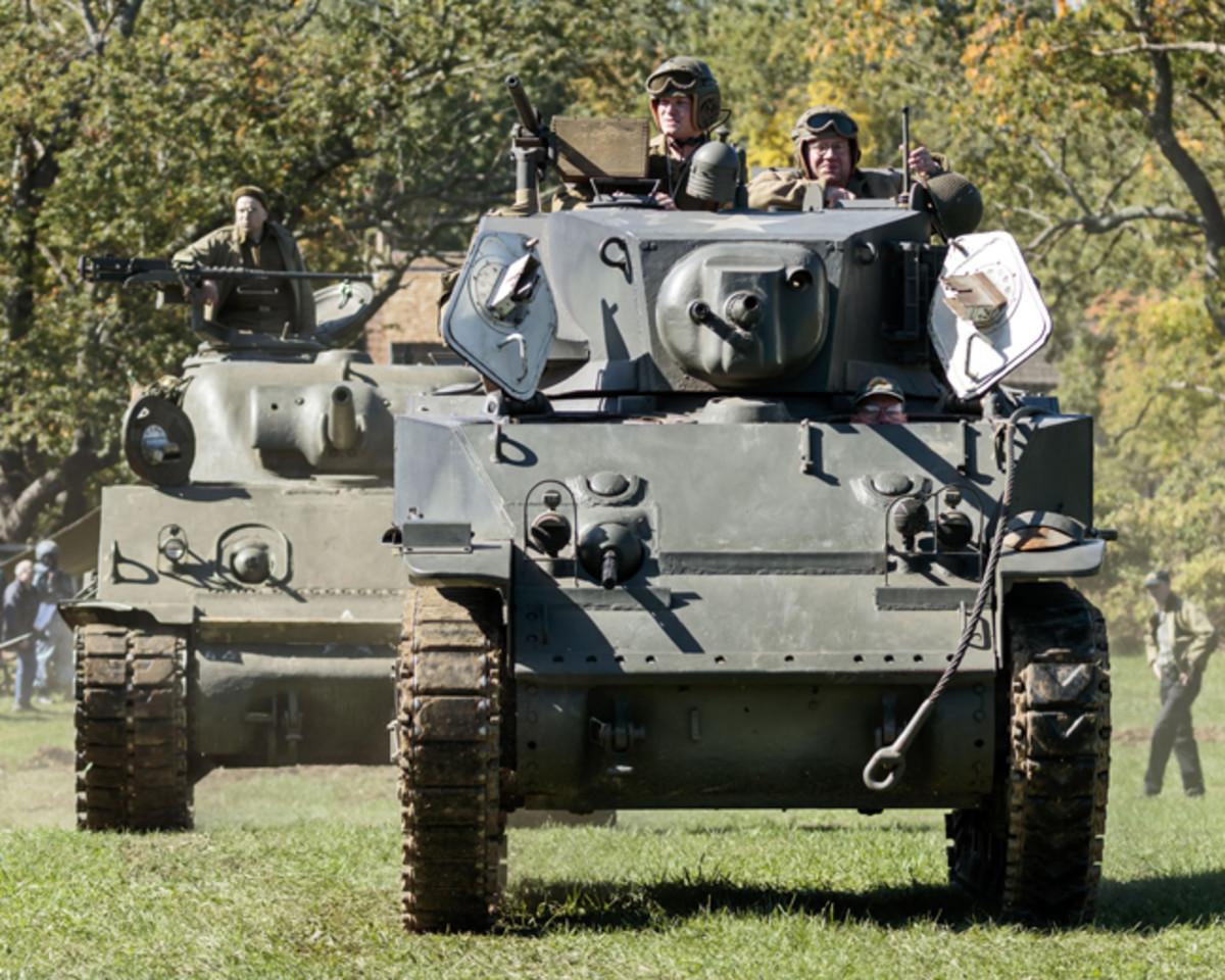 M5A1 Light Tank - Museum of American Armor