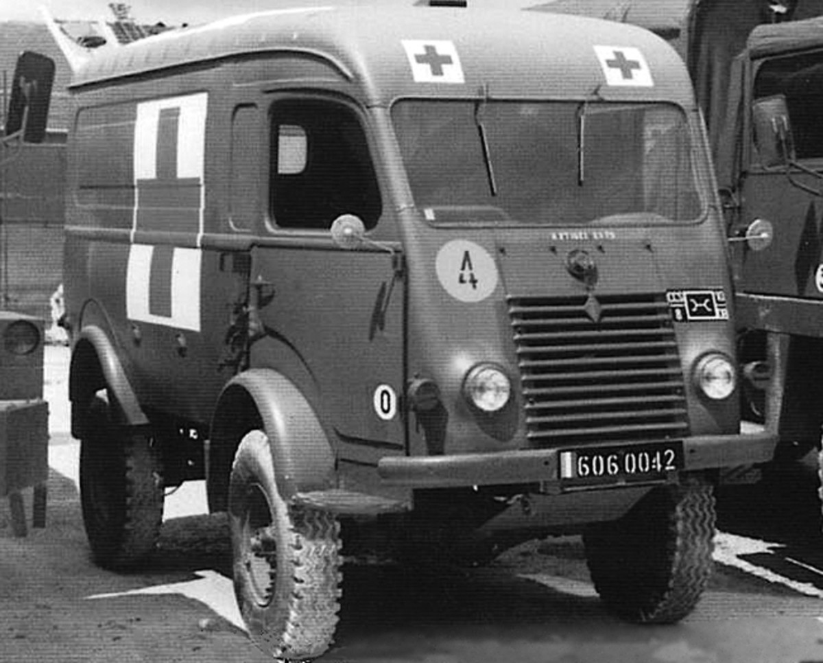Although not put into production until 1945, the Renault R2087 was a very capable and practical military ambulance. Not surprisingly, many have survived and are in civilian hands today as off-road campers.